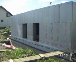 Ропша — монолитный цокольный этаж под дом из керамзитобетона