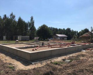 Ландышевка — ленточный фундамент под дом из бруса