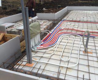 Педлино — утепленная шведская плита под дом из СИП-панелей