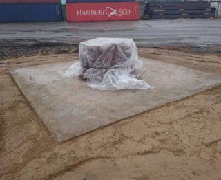 ПАО Судостроительный завод «Северная верфь» — фундамент под кран