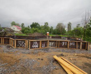 Старо-Паново — монолитная плита под дом из газобетона