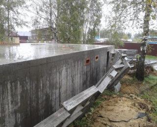 Разметелево — цокольный этаж под дом из газобетона