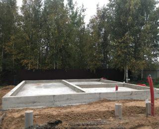 Павловск — плита с ростверком и сваи под дом из бруса