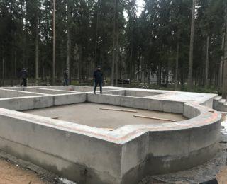 Ленинское — монолитные плиты с роствером под дом и гараж