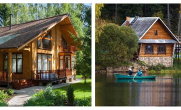 Мечтаете построить дом у озера или в лесу?