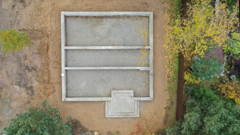 фундамент под загородные дома