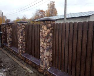 Мартышкино- ленточный фундамент и забор под ключ