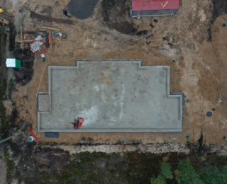 Северная Жемчужина - монолитный фундамент под баню из сруба